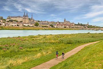 Blois aan de Loire. van Easycopters