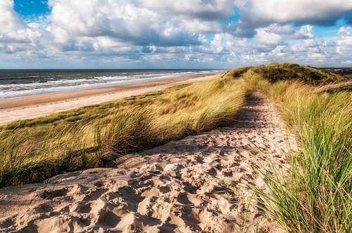 Zandpad over het zeeduin von Fotografie Egmond