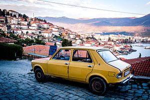 Car in Ohrid van
