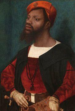Porträt eines afrikanischen Mannes, Jan Jansz Mostaert - ca. 1525