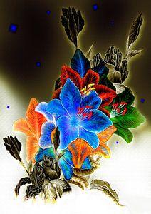 Lilien- Iris Mix von Dusanka Djeric