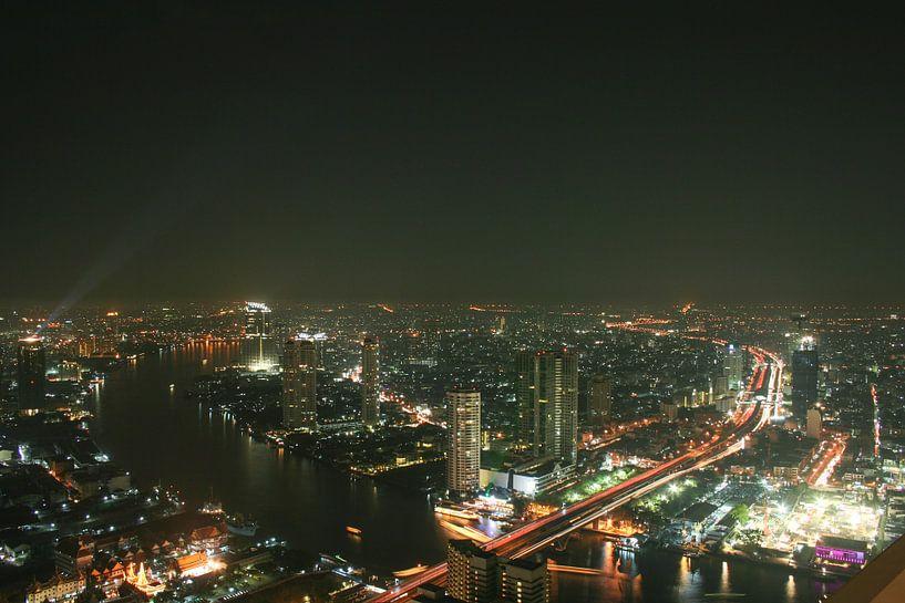 Über den Dächern bon Bangkok von Levent Weber