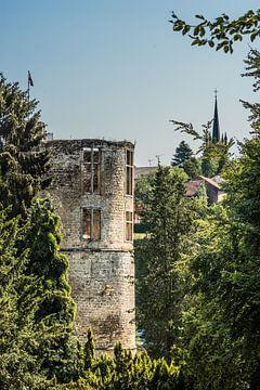 Schloss in Beaufort, Großherzogtum Luxemburg von Martine Dignef