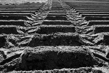 Sporen tractorbanden van Eugene Winthagen