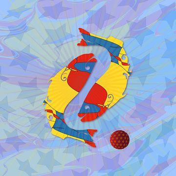 Vissen Horoscoop JM051op van Johannes Murat