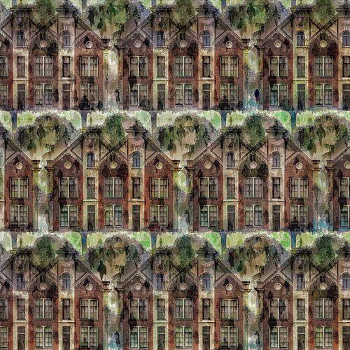 Cityscape V (op basis van rijksmonument de Sterrehof, Utrecht)