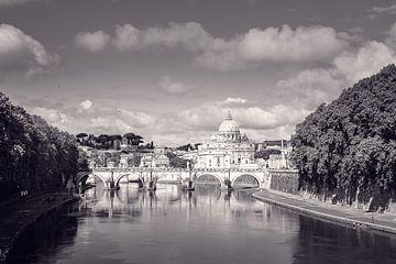 Rome Uitzicht op vaticaanstad von Tom Klerks