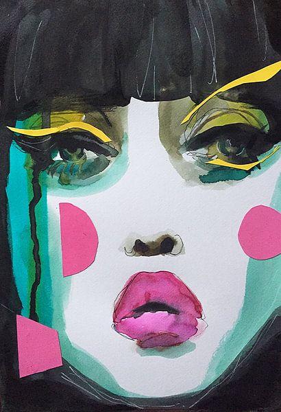 Geisha Glam von Helia Tayebi Art