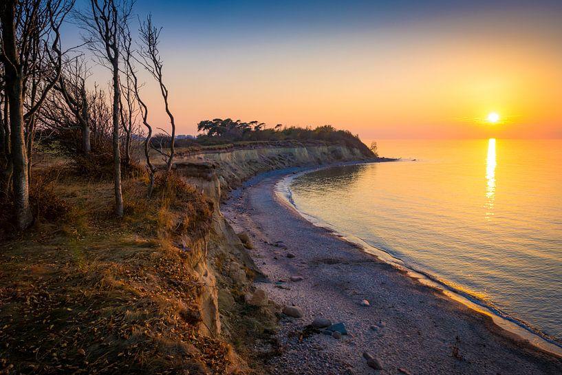 Abend an der Ostsee von Martin Wasilewski