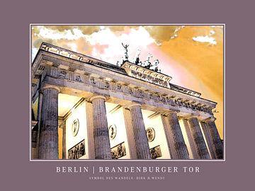 Berlin | Porte de Brandebourg sur Dirk H. Wendt