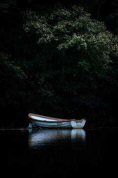 Boot auf dem See von Kashja Neels