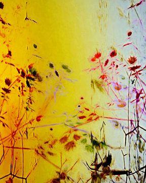 Bloemen en bladeren van Angel Estevez