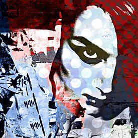 Blue lady van PictureWork - Digital artist