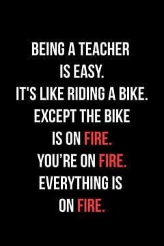 Enseignant Drôle de dire qu'être un enseignant sur Felix Brönnimann
