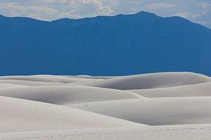 Gipsduinen in White Sands National Monument