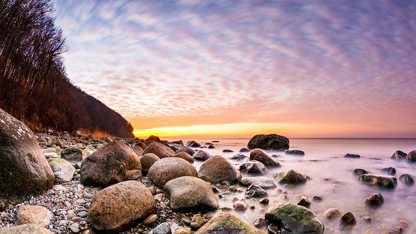 Sonnenuntergang auf Rügen von Günter Albers