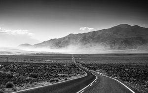 Highway in Death Valley