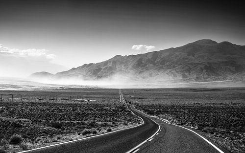 Highway in Death Valley van