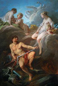 François Boucher. Venus bittet Vulcan Waffen für Aeneas