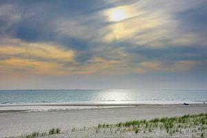 Zonsondergang op de Maasvlakte