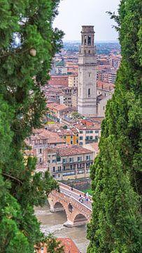 Blick durch Verona, Italien von Jessica Lokker