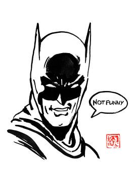 batman niet grappig van philippe imbert