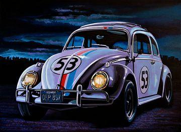 Herbie painting sur Paul Meijering