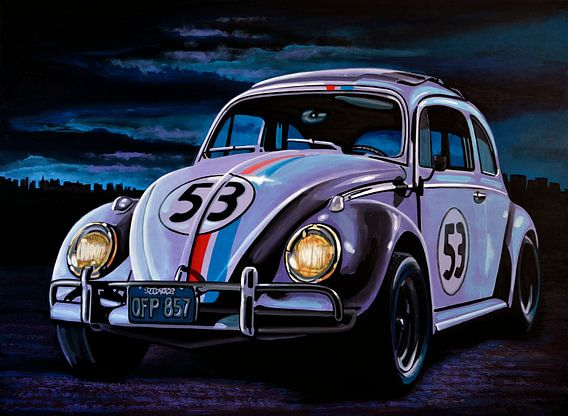Herbie schilderij van Paul Meijering
