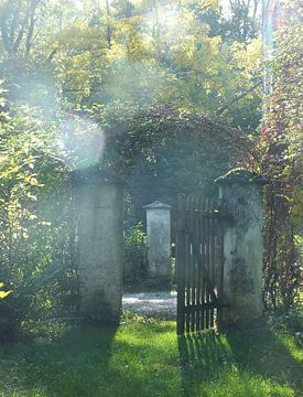 Schlossgarten II sur Ilona Picha-Höberth