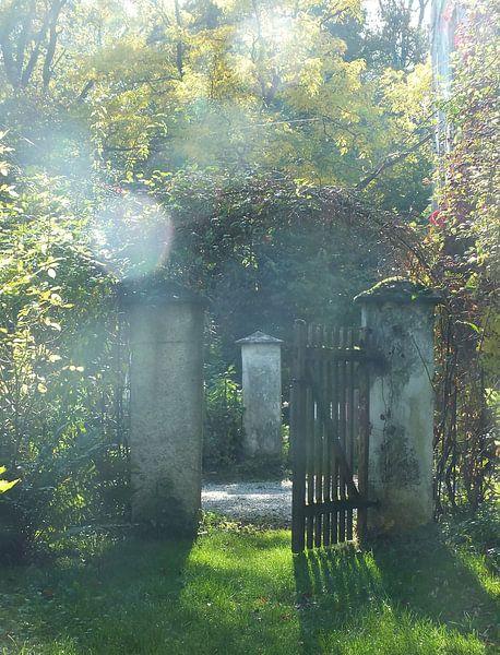 Schlossgarten II von Ilona Picha-Höberth