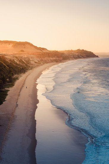 Pipa strand zonsondergang