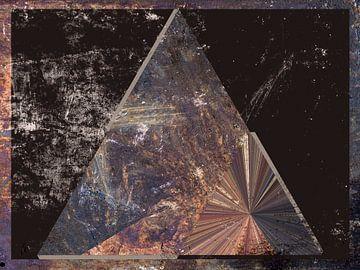 Figuren und Formen - Tetrahedron von Christine Nöhmeier
