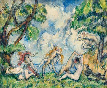 Kampf der Liebe, Paul Cézanne (ca. 1880) von Atelier Liesjes