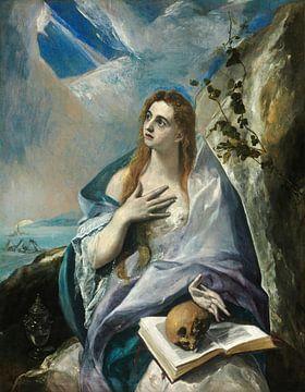 Die reuige Maria Magdalena, El Greco