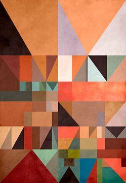 Abstracte samenstelling 1209 van Angel Estevez