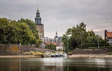 Bult Van Ketje met zicht op de Sint Walburgiskerk van M.J. Böhmer