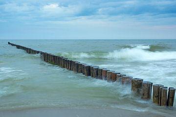 Buhne in der Ostsee von Katrin May