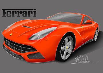 Ferrari F12 Berlinetta van Rakesh Soekhoe