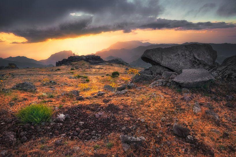 When the sky opens (Pico do Arieiro / Madeira / Portugal) van Dirk Wiemer