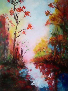 Herbstlandschaft von Angel Estevez