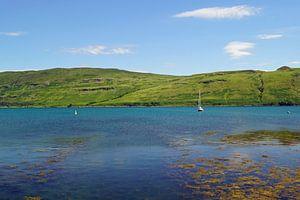 Scotland landscape, lakes