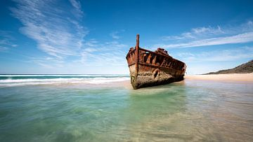 Schiffswrack, Fraser Island von Arno Steeman