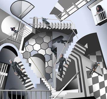 Eschers trap van Dray van Beeck