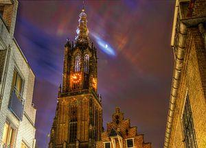OLV Toren in het Donker van Kei(stad) Donker