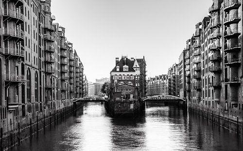 Speicherstadt Hamburg van Werner Reins