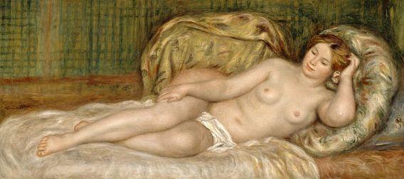 Auguste Renoir. Liggend naakt