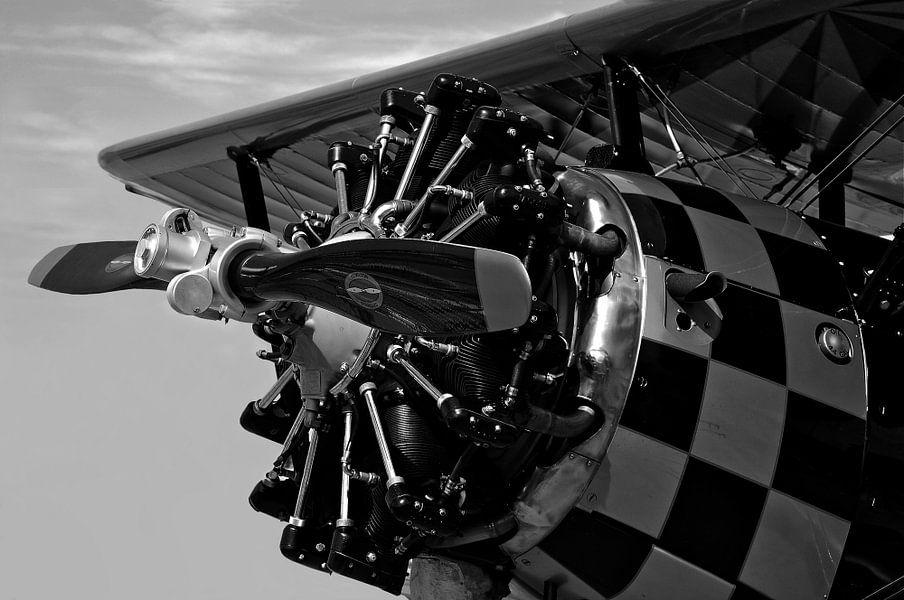 Airplane Old Engine van René Koert