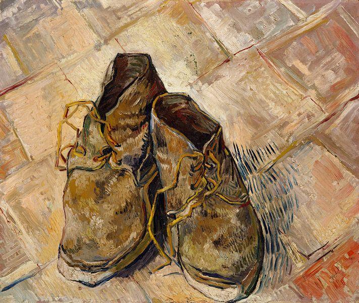 Vincent van Gogh. Schoenen van 1000 Schilderijen
