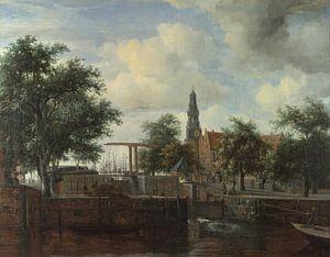 Die Schleuse Haarlem, Amsterdam, Meindert Hobbema
