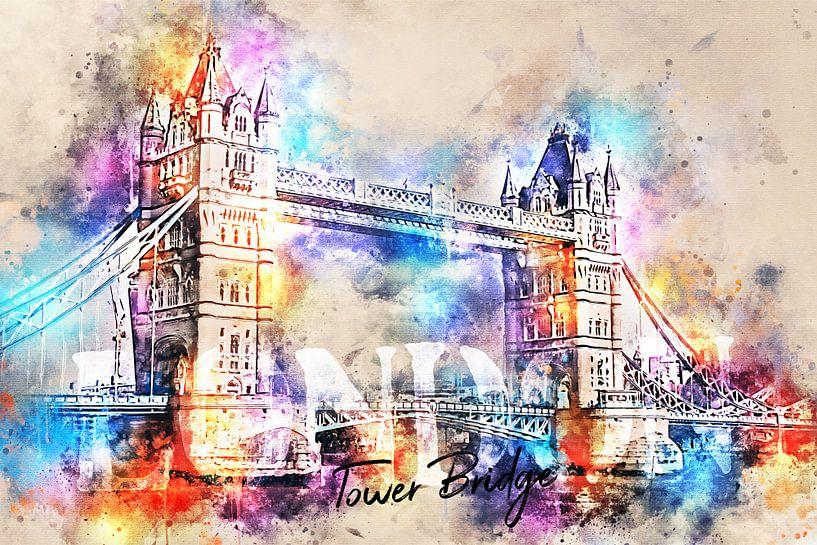 Tower Bridge - Londen van Sharon Harthoorn